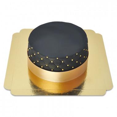 Gâteau Deluxe Noir - double hauteur