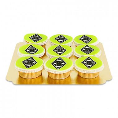 Borussia Mönchengladbach - Cupcakes (9 pièces)