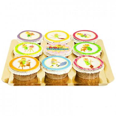 Bibi Blocksberg - Cupcakes colorés