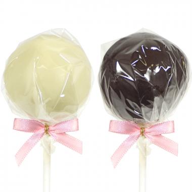 Cake-Pops Vanille & Chocolat (12 pièces)