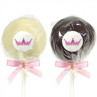 Cake-Pops Logo - Vanille & Chocolat (12 pièces)