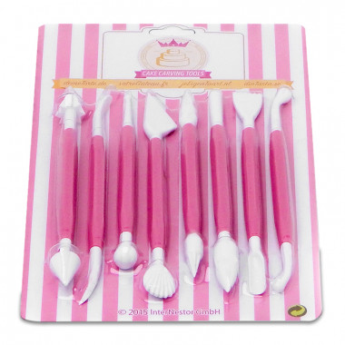 Set de spatules à modelage