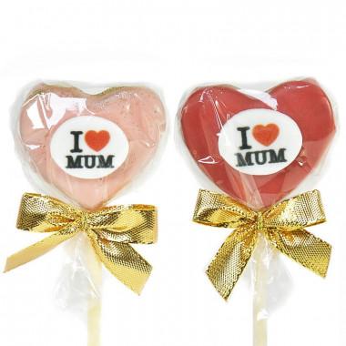 "Cake-Pops ""I Love Mum"" (12 pièces)"