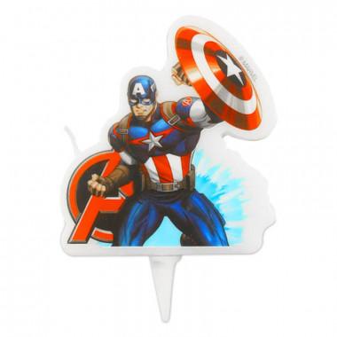 Bougie Captain America