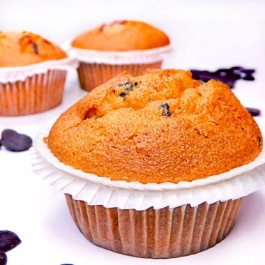 Muffins aux éclats de chocolat (9 pièces)