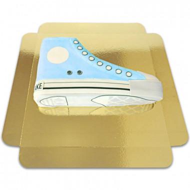 Gâteau Sneakers Bleu
