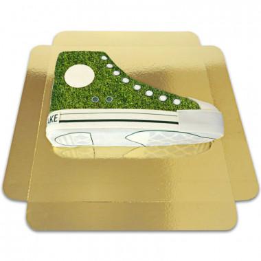 Gâteau Sneaker  Vert gazon