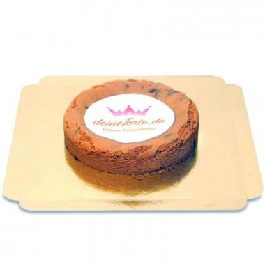 Gâteau cookie avec Logo
