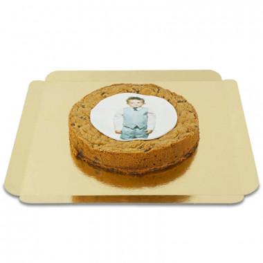 Gâteau photo cookie