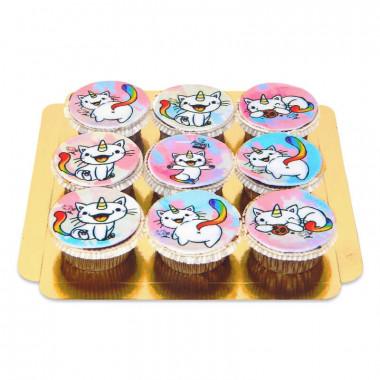 Cupcakes du Chat Arc-en-ciel Purricorn