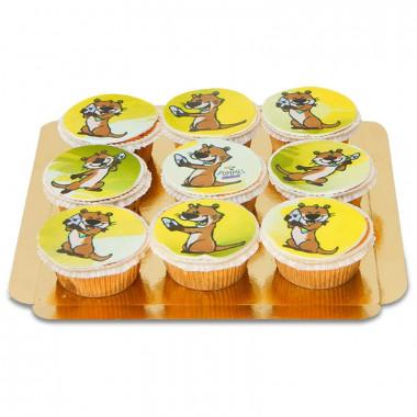 9 Cupcakes Buddy - Chubby Unicorn