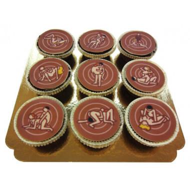 Cupcakes Kamasutra (9 pièces)