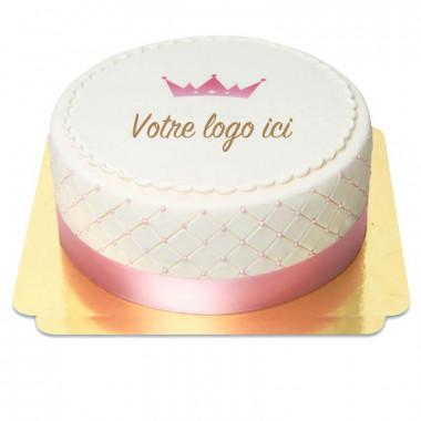 Gâteau Logo Deluxe - double hauteur