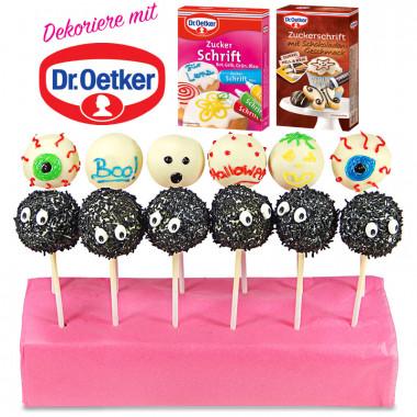 Cake-Pops Halloween Dr. Oetker