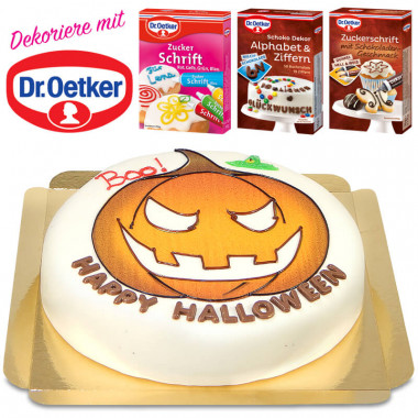 Gâteau Halloween Dr. Oetker