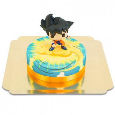 Gâteau figurine Dragon Ball - Son Goku sur son Nuage Volant