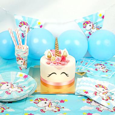 Kit de décoration Licorne (gâteau inclus)