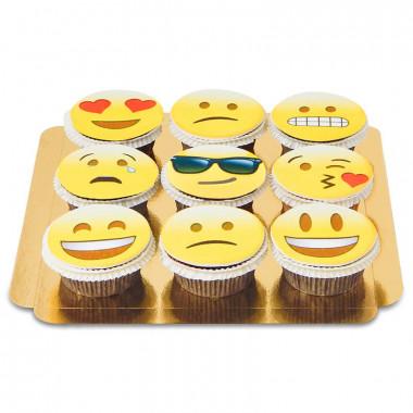 9 Cupcakes Emoji