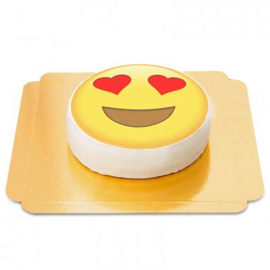 Gâteau Emoji Amour