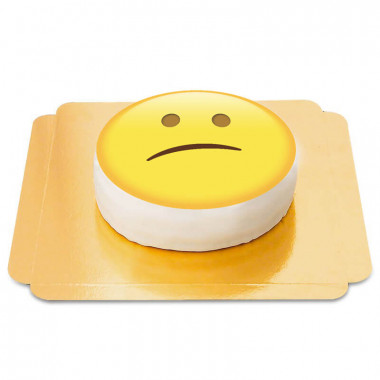Gâteau Emoji Déçu