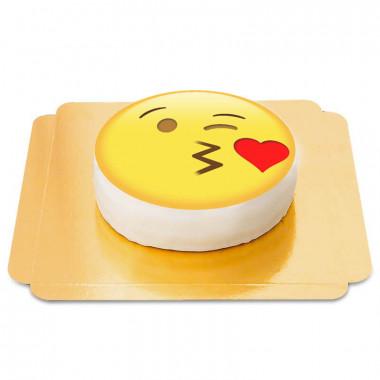Gâteau Emoji Bisou