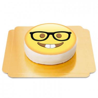 Gâteau Emoji Geek