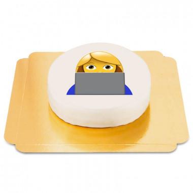 Gâteau Emoji Informaticienne