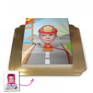 Face-Cake - Pompier