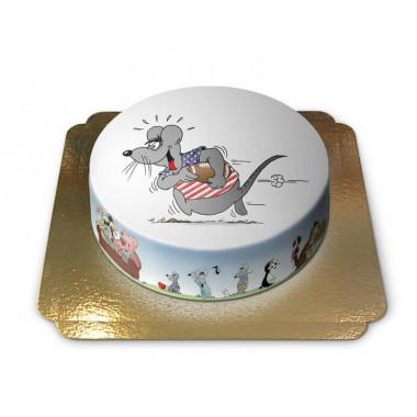 Gâteau souris Football américain