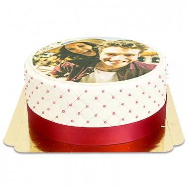 Gâteau Photo Deluxe M - Double Hauteur