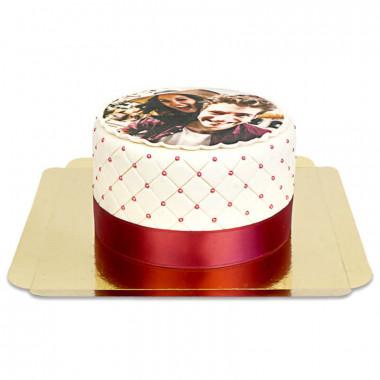 Gâteau photo Deluxe S – double hauteur