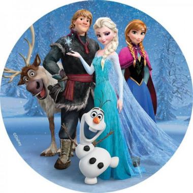 Feuille décorative La Reine des neiges