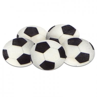 Ballons de football, env. 4 cm (5 pièces)