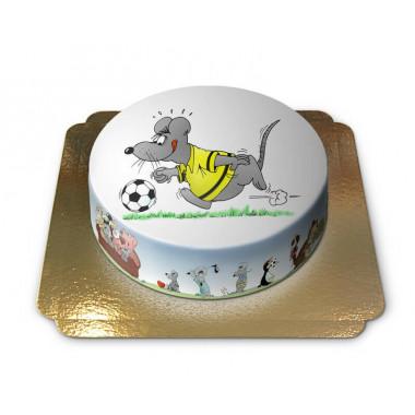 Gâteau Souris Footballer