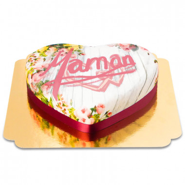 Gâteau Coeur Printanier pour les Mamans