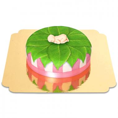 Gâteau bébé - rose