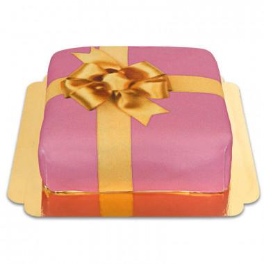 """Gâteau-boîte à cadeaux """"Pink"""""""