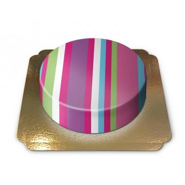Gâteau à Rayures
