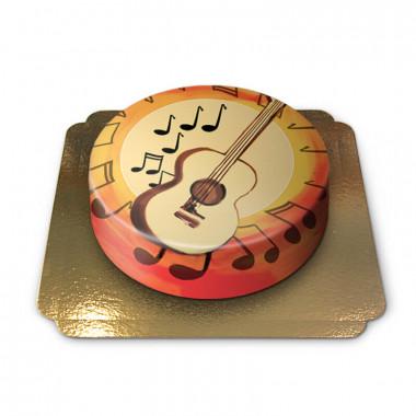 Gâteau Guitare