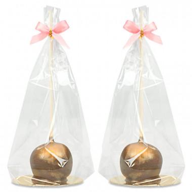 Cake-Pops dorés Deluxe (10 pièces)