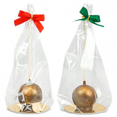 Cake-Pops dorés Deluxe (10 pièces) - Édition de Noël