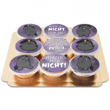 Cupcakes Licorne Chubby Grognon