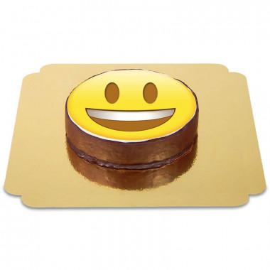 Gâteau Sacher Emoji Heureux