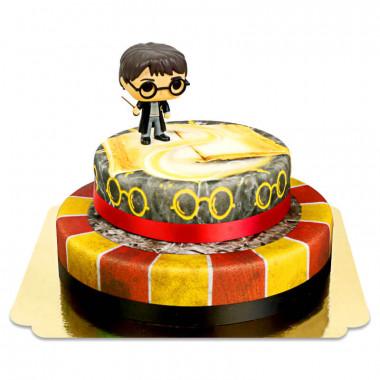 Harry Potter sur gâteau Lion à 2 étages