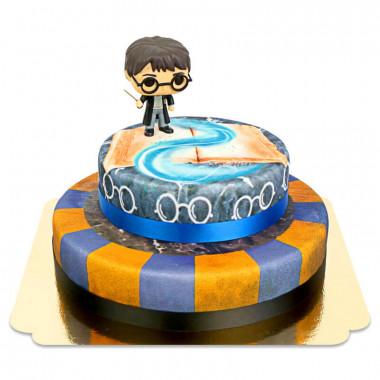Harry Potter sur gâteau Aigle à 2 étages