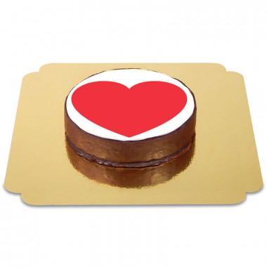 Gâteau Sacher Coeur