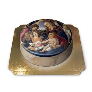 Gâteau Communion La Madone du Magnificat