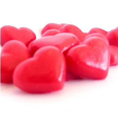 Petit coeur, env. 20 mm (5 pièces)
