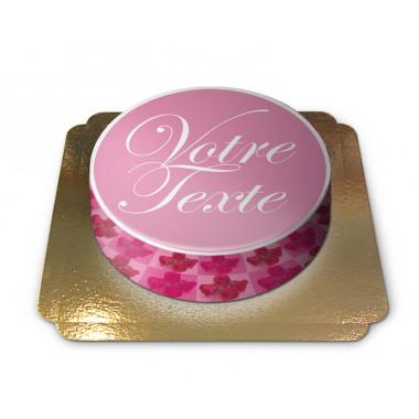 Gâteau à Message d'amour