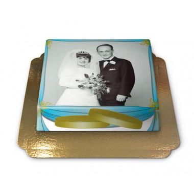 Gâteau-Photo pour Mariage